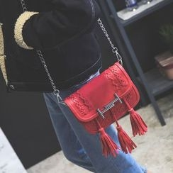 Secret Garden - Tassel Shoulder Bag