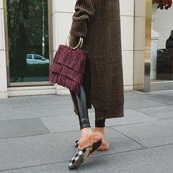 DISCOSALON - Faux-Leather Leggings