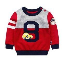 Ansel's - 童裝貼布繡毛衣