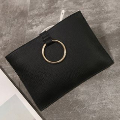 Diamante - Metal Ring Clutch