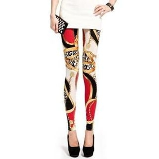 Lynley - Mixed Print Leggings