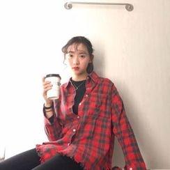 MISS YOYO - 格子长衬衣