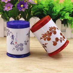 Evora - Floral Print Toothpick Holder