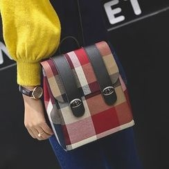 Bibiba - Plaid Crossbody Bag