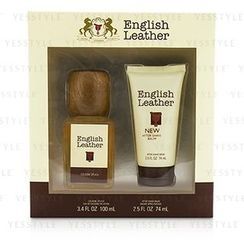 Dana - English Leather Coffret: Cologne Splash 100ml/3.4oz + After Shave Balm 74ml/2.5oz