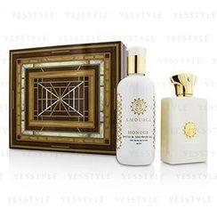 Amouage - Honour Coffret: Eau De Parfum Spray 100ml/3.4oz + Bath and Shower Gel 300ml/10oz