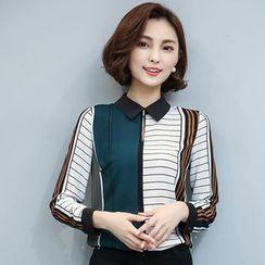 EFO - Long-Sleeve Patterned Shirt