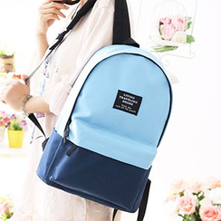 Canvas Love - Two Tone Canvas Backpack