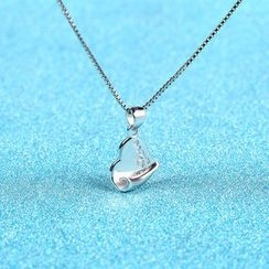 Zundiao - Sterling Silver Heart Pendant