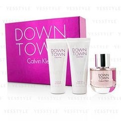 Calvin Klein 卡爾文克來恩 - Downtown Coffret: Eau De Parfum Spray 90ml/3oz + Body Lotion 100ml/3.4oz + Shower Gel 100ml/3.4oz