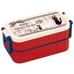 Skater - Kiki's Delivery Service Tight 2 Layer Lunch Box (Airmail)
