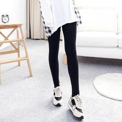 LULUS - Fleece-Lined Stirrup Leggings