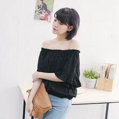 Tokyo Fashion - Off-Shoulder Top
