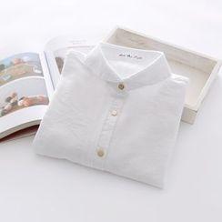 布丁坊 - 純色襯衫