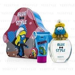 The Smurfs - Smurfette Coffret: Eau De Toilette Spray 100ml/3.4oz + Shower Gel 75ml/2.5oz + Key Chain