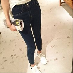 Eva Fashion - Cropped Skinny Jeans