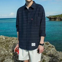 Arthur Look - 条纹长袖衬衫