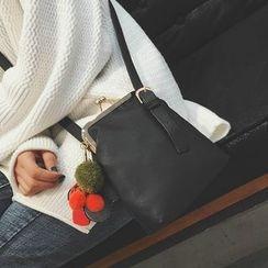 薇薇 - 球球装饰单肩包