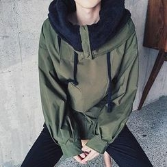 qiaqiayes - Hooded Trench Jacket