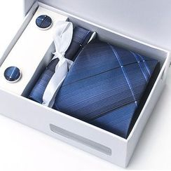 Xin Club - 图案领带礼盒装
