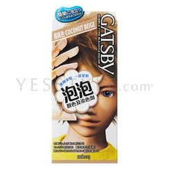 Mandom - Gatsby Gel To Bubble Hair Color (Coconut Beige)