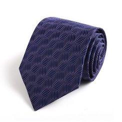 Xin Club - 图案真丝领带 (8cm)