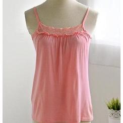 59 Seconds - Lace-Trim Camisole Top
