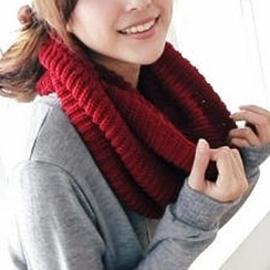 BAIMOMO - Ribbed Circle Scarf