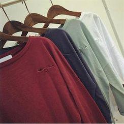 QZ Lady - Long-Sleeve Drop-Shoulder T-Shirt