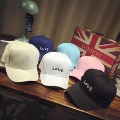 FROME - 字母刺繡棒球帽