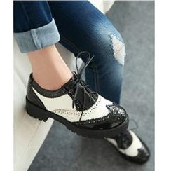 Freesia - 布洛克牛津鞋