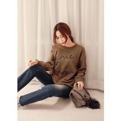 J-ANN - Cotton Print Sweatshirt