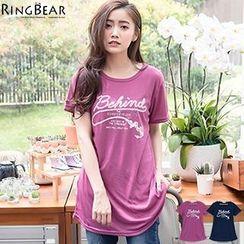 RingBear - Short Sleeve Printed T-Shirt