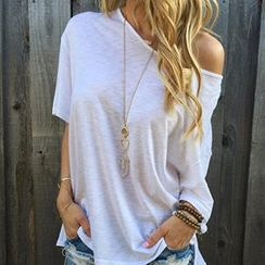 Isadora - 露肩短袖T恤