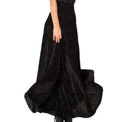 Cosimia - Pleated Long Skirt