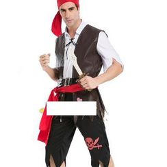 Cosgirl - Couple Pirate Party Costume