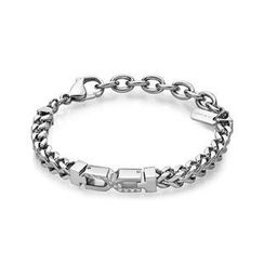 Kenny & co. - Steel X Shape with Crystal Bracelet