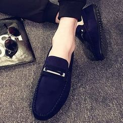 Shoelock - Faux Suede Loafers