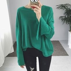 OCTALE - Slit Long-Sleeve T-Shirt