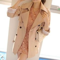 OTTI - Double-Breasted Trench Coat