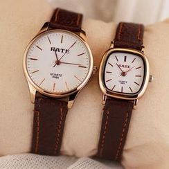 Tacka Watches - Genuine Leather Strap Watch