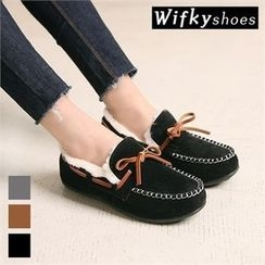 Wifky - Faux-Fur Lined Moccasins