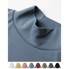 STYLEMAN - Colored Turtle-Neck T-Shirt