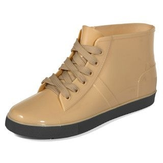 yeswalker - Lace-Up Ankle Rain Boots