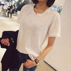 Dream Girl - Plain Short-Sleeve T-Shirt