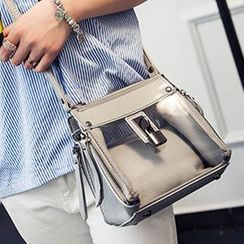 Clair Fashion - Metallic Jelly Shoulder Bag
