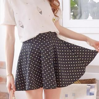 Tokyo Fashion - Dotted A-Line Skirt