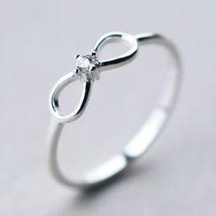 A'ROCH - 925纯银蝴蝶结纯银指环