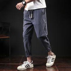 Prep Soul - Drawstring Tapered Pants