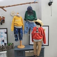 Bear Town - Kids Mock Two-Piece Sweatshirt